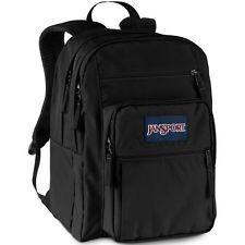 NWT - JanSport Big Student Backpack / Bookbag - BLACK