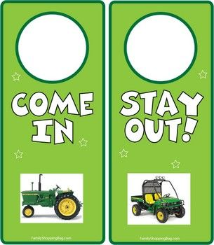 27 Best Images About John Deere Tractor Printables On