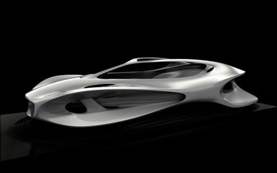 Mercedes-Benz Aesthetics 125 Sculpture | Cars show