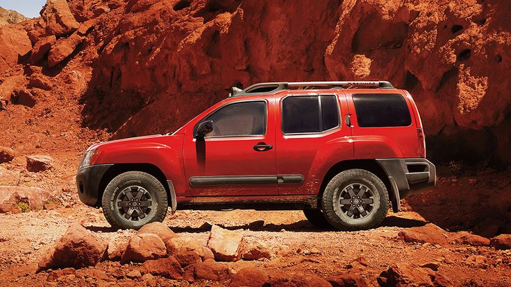 Nissan Xterra PRO-4X® shown in Lava Red.