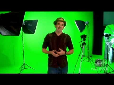 how to green screen with photography