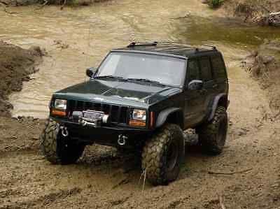 "1984-2001 3"" Jeep Cherokee XJ Full Suspension Lift Kit Zone w/Rear Leaf Springs"