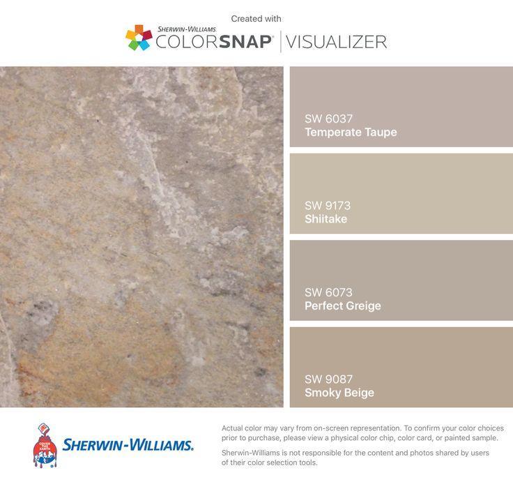 Die besten 25 sherwin williams perfekt greige ideen auf pinterest greige farbe greige - Wandfarbe greige ...