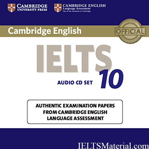 IELTS Cambridge IELTS 10 Free Download Latest 2016