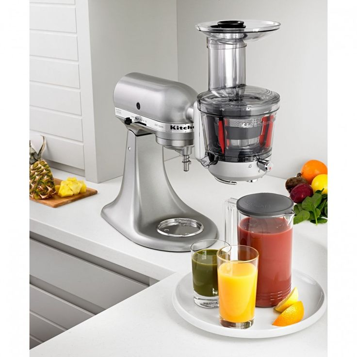 Kitchen Aid Juicer & Sauce Attachment - For All Home Stand Mixers | Everything Kitchens