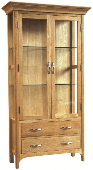 Provence Oak Display Cabinet £916.00