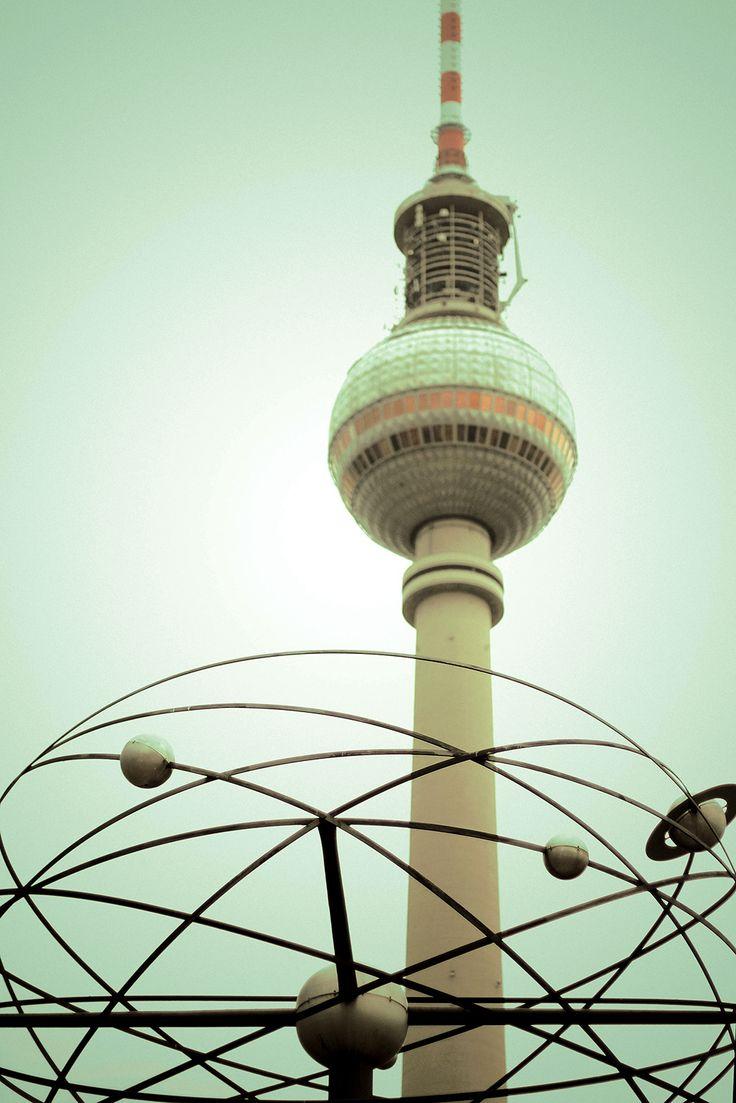 Tv Tower. Berlin, Germany, 2014.   #street #photography #poster #urban #cityscape #citylife #portrait #alexanderplatz #tvtower #fernsehturm #weltuhr #worldclock #capture #europe #germany #east #aaanniii #ostdeutschland #ost #straße #strasse #straßenfotografie #city #road #travel #art #etsy #society6 #colour #color #colourful #canon #50mm #canoneos600d #urban #berlin #travel #table #art #photography #style #print #anjahebrank #autumn #sun #sunlight #fernsehturm #berlin #ostdeutschland
