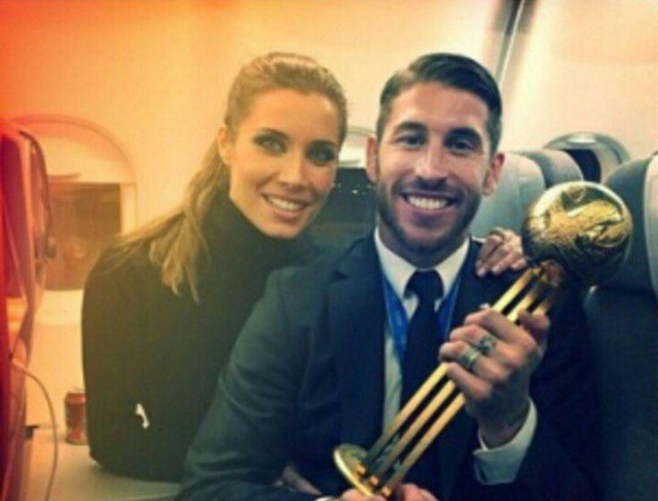Sergio Ramos (Real Madird) & Pilar Rubio