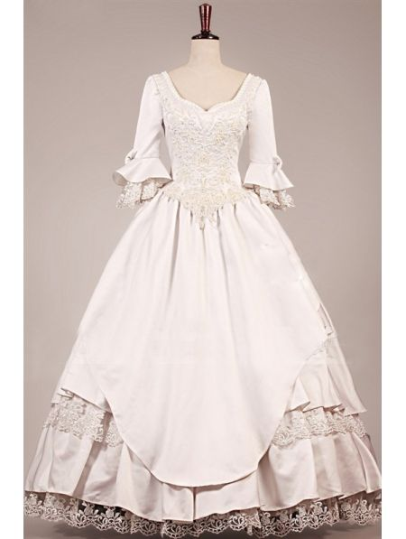 Vintage Victorian Wedding Dress