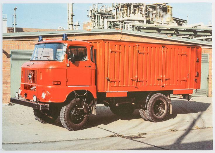 """DDR Museum - Museum: Objektdatenbank - """"Feuerwehrfahrzeuge DDR"""" Copyright: DDR Museum, Berlin. Eine kommerzielle Nutzung des Bildes ist nicht erlaubt, but feel free to repin it!"""