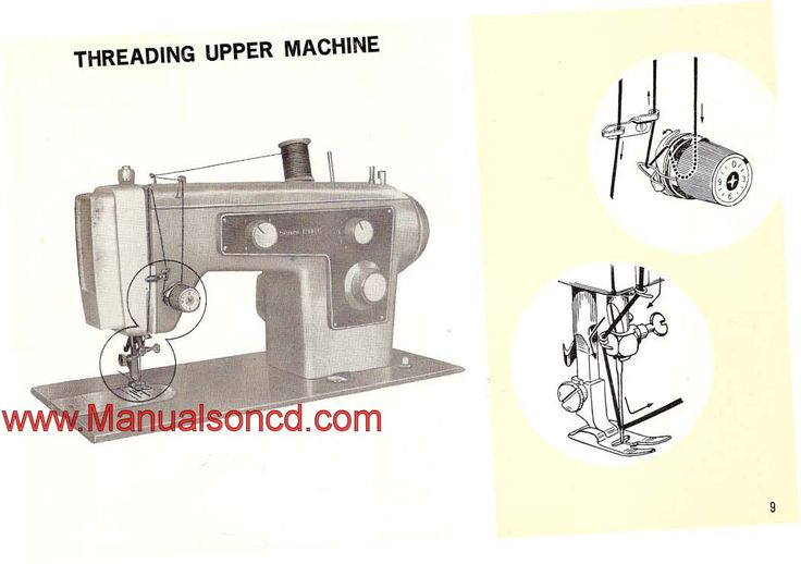 kenmore model 158 sewing machine manual free