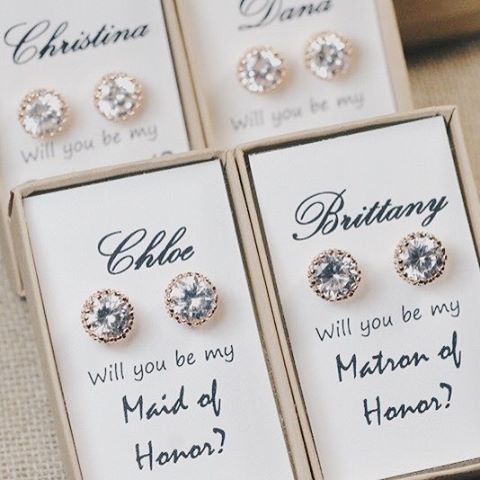 Love This Idea To Read More On Ways To Ask Your Bridesmaid The Big