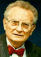 41.  LIBERAL ECONOMIST.  Paul Samuelson wrote the textbook that introduced baby-boomers to economics.  He also supported land value taxes.