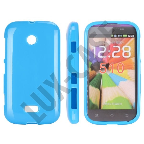 Blå Nokia Lumia 510 Skydd