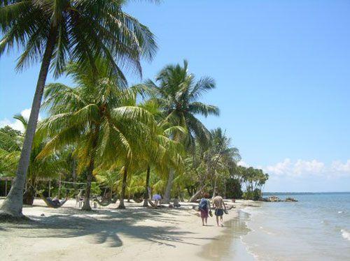 Livingston - playa blanca - guatemala
