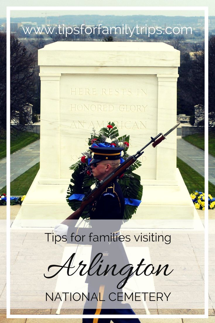 Tips for families visiting Arlington National Cemetery in Virginia | tipsforfamilytrips.com | Washington D.C. | travel
