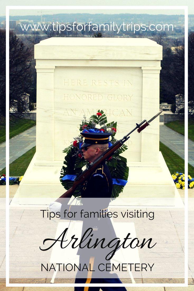 Tips for families visiting Arlington National Cemetery in Virginia   tipsforfamilytrips.com   Washington D.C.   travel