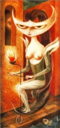 Lady Godiva - Remedios Varo