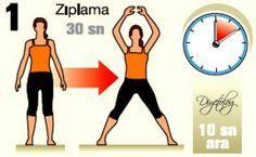 Bu egzersizlerle günde 7 dakika zayıflamak kim istemez ?