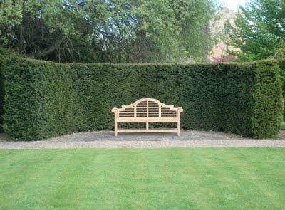 Luyten's Bench, first designed for Gertrude Jekyll for her country seat at Munsted Wood