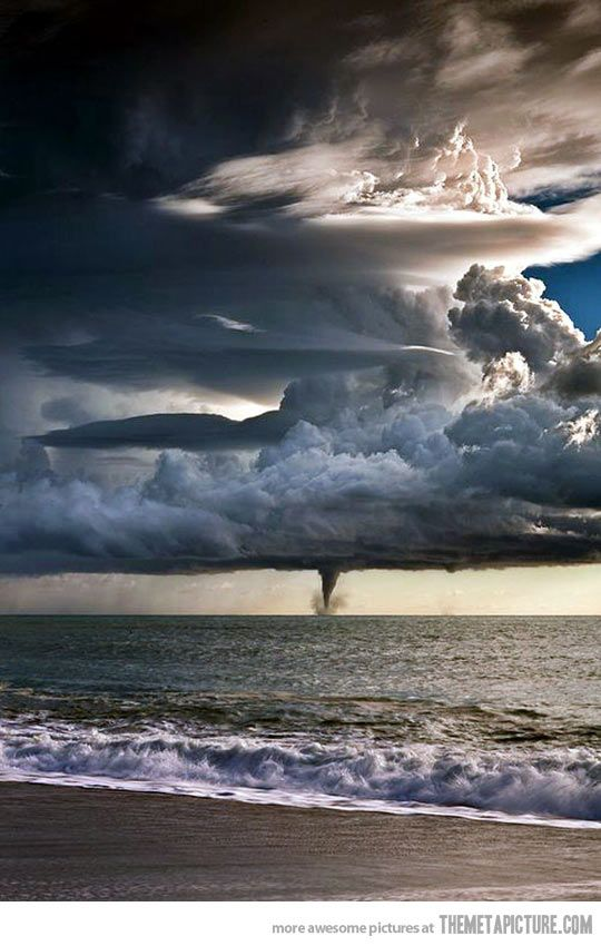 The real size of a tornado…
