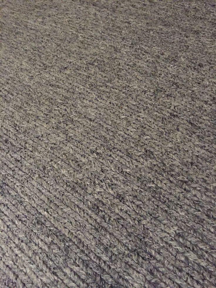 Rug, braided, braided rug, gray, design, interior, Hemtex