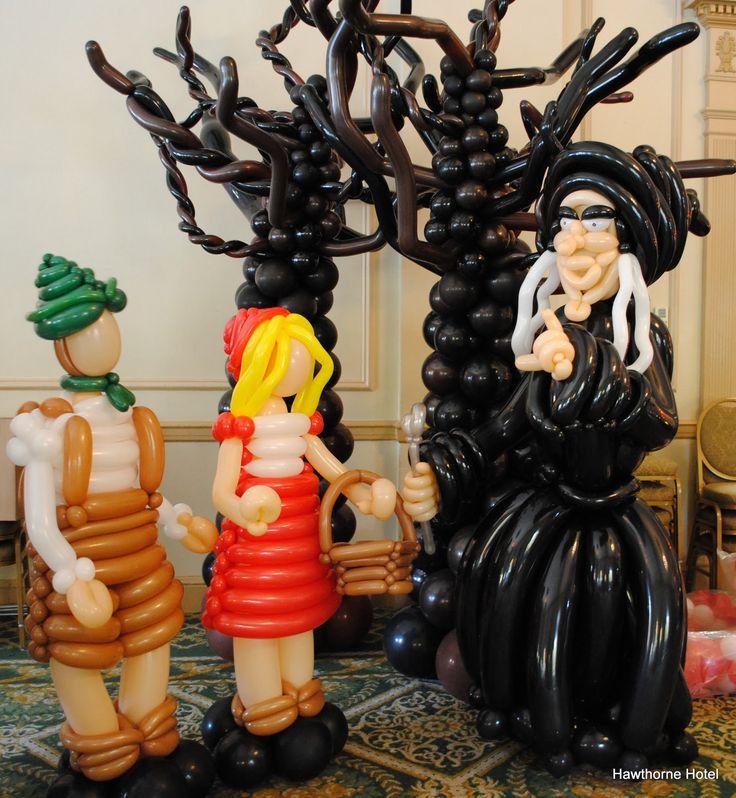 Best balloon halloween figures decorations images on
