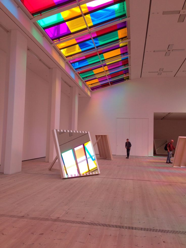 Daniel Buren's unique exhibition on now at The Baltic, Gateshead England. Colours & reflections are amazing !!