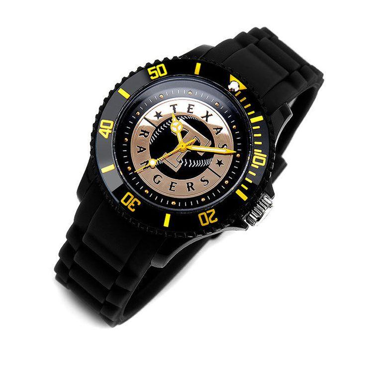MLB303 Series Official Texas Rangers Unisex Fashion Wrist Watch_3 options #MLB #TexasRangers
