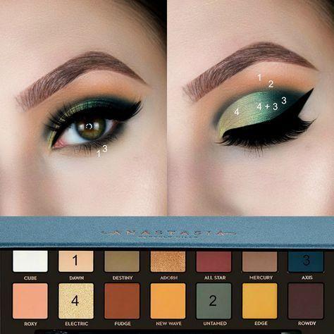 3294 best beauty eyes images on pinterest beauty makeup eye shadows and makeup ideas. Black Bedroom Furniture Sets. Home Design Ideas