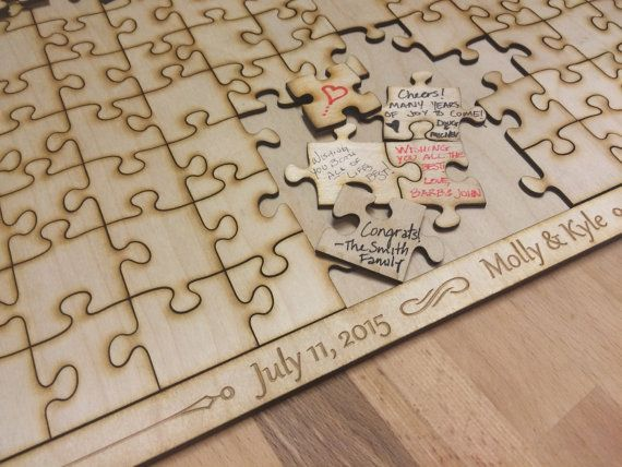Update the wedding guest book with these unique ideas! - Wedding Party
