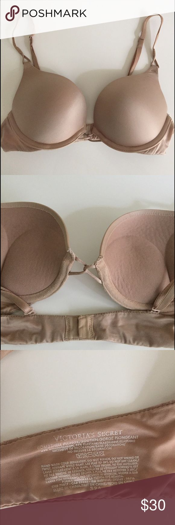 Victoria's Secret Bombshell bra Amazing push-up bra that adds 2 cups. Still in really good condition. Victoria's Secret Intimates & Sleepwear Bras
