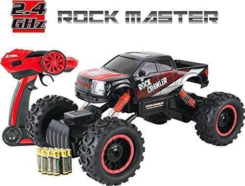 Oferta: 39.99€ Dto: -56%. Comprar Ofertas de Coche con mando a distancia para niños – Rock Crawler 4x4 RC Car - 1/14 Rock Master Rock Crawler con controlador 2.4Ghz (Rojo barato. ¡Mira las ofertas!