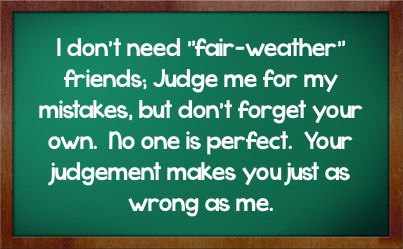 fair weather friends pictures quotes | Friendship Facebook Status #643929 - Facebook Statuses