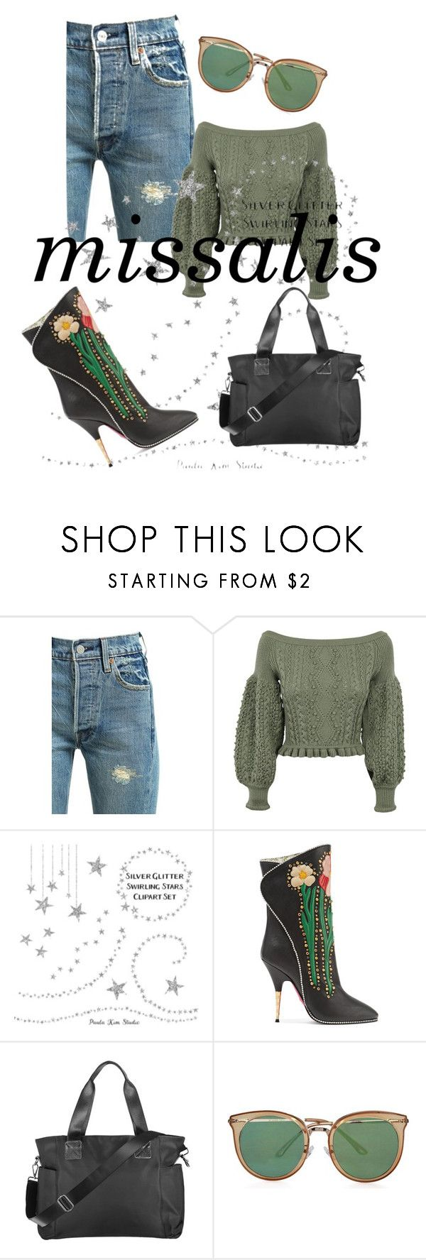 """""""missalis bag autumn choose"""" by wodluckbeens on Polyvore featuring Levi's, Valentino and Gucci"""