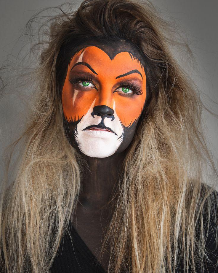 Disney's The Lion King Scar Makeup . Halloween