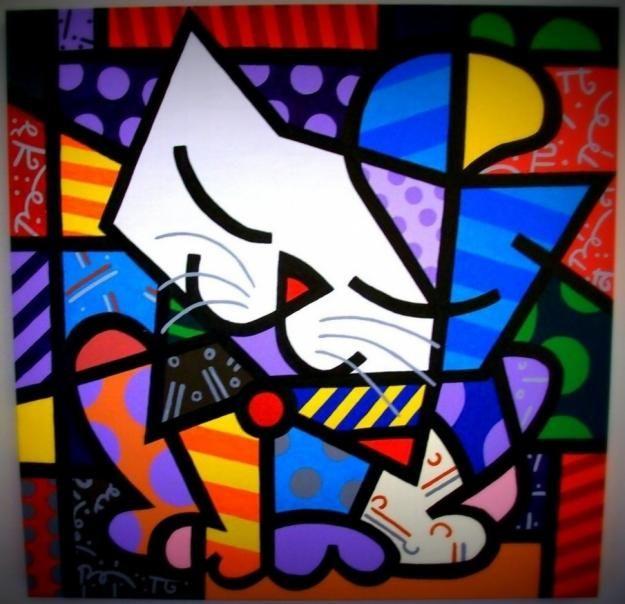 Resultados da Pesquisa de imagens do Google para http://images04.olx.com.br/ui/4/06/95/1353166983_451390195_1-Fotos-de--Releitura-Romero-Britto.jpg