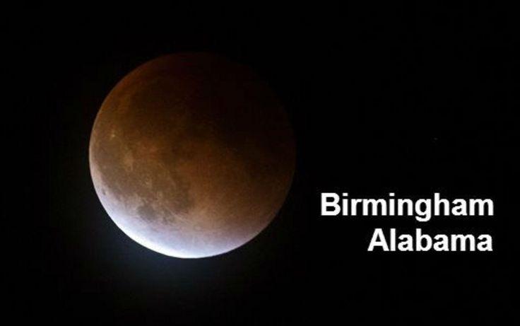 #Supermoon #Bloodmoon #Birmingham