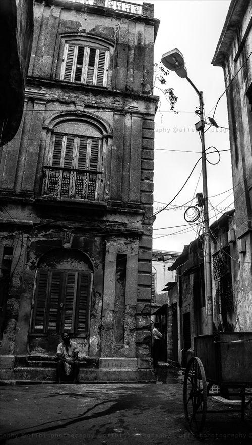 a street corner .... kolkata