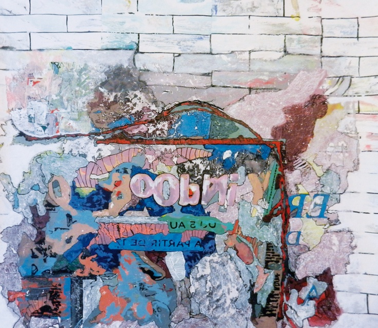 Claudio Spanti - Transplosion - Acrylique sur toile - cm 60x67 - 2012