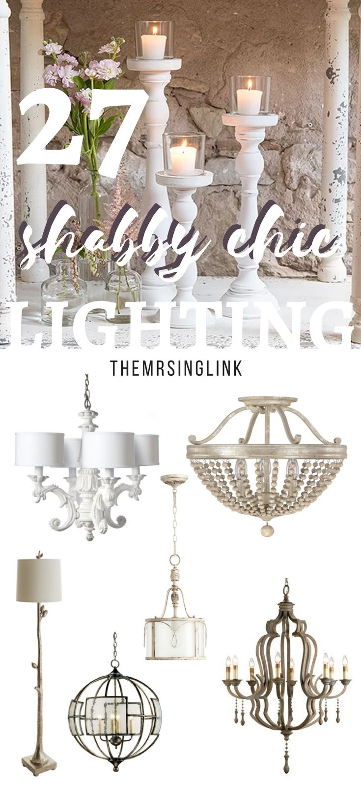 Shabby Chic Lighting Decor To Brighten Your Home