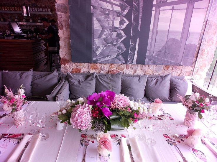 Ανθοστολισμός γάμου - βάφτισης στο Moorings Βουλιαγμένης #lesfleuristes #λουλούδια #ανθοσύνθεση #ανθοπωλείο #γλυφάδα #βουλιαγμένη #γάμος #βάφτιση #δεξίωση