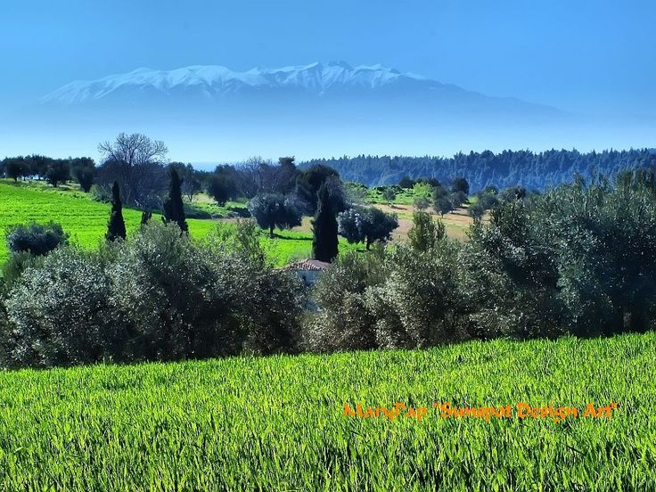 mount olympus by marypap