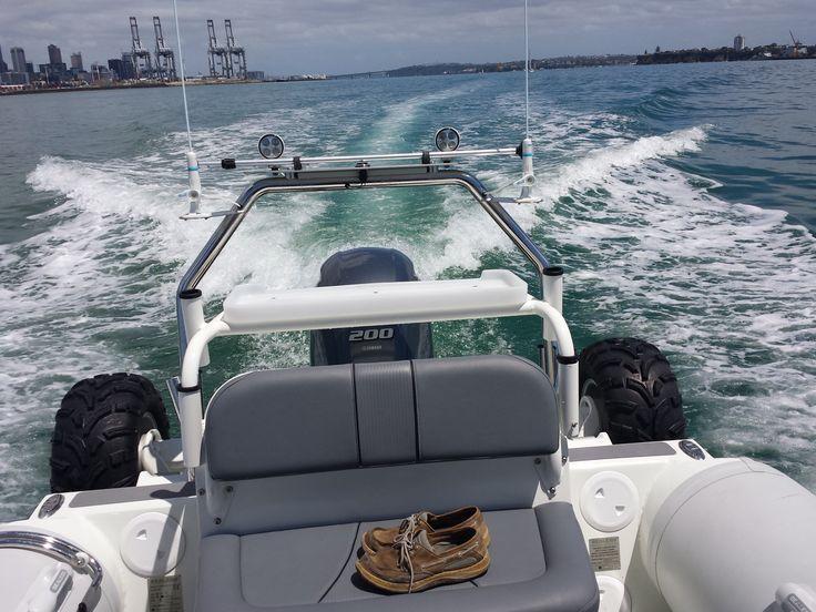 underway in Auckland