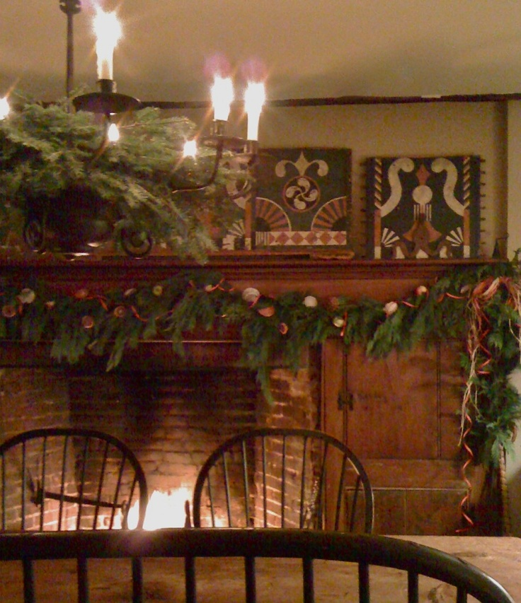 Country Christmas Mantels: 168 Best PRIMITIVE FIREPLACES Images On Pinterest
