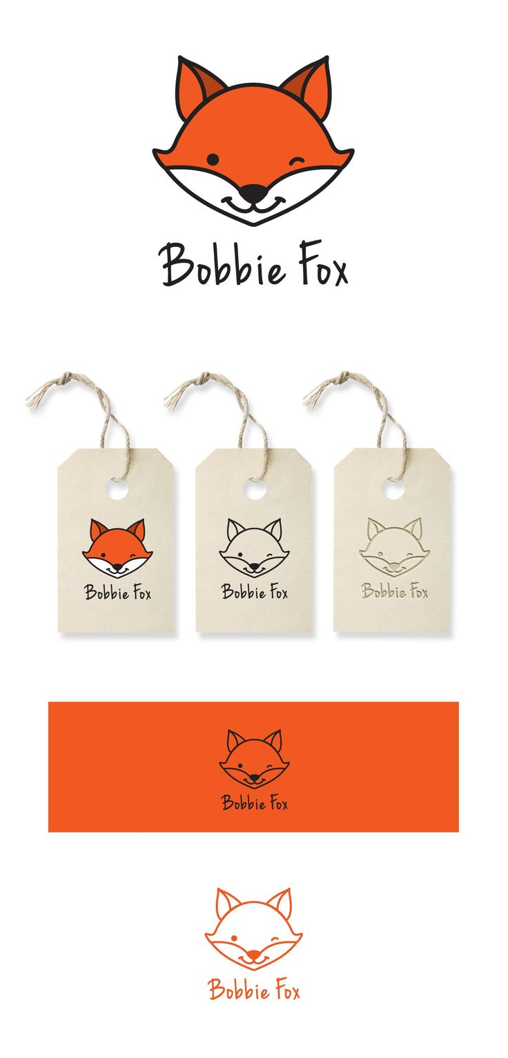 Design #68 by dondidora | Create the face of Bobbie Fox, the character and logo of a new childrenswear label.