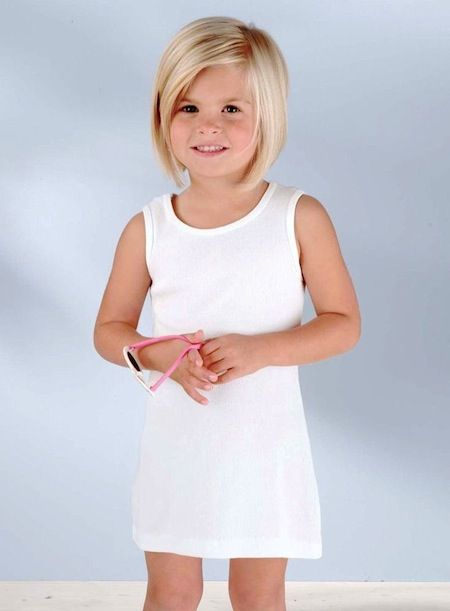 Short hair - Cute bob cut for little girls.