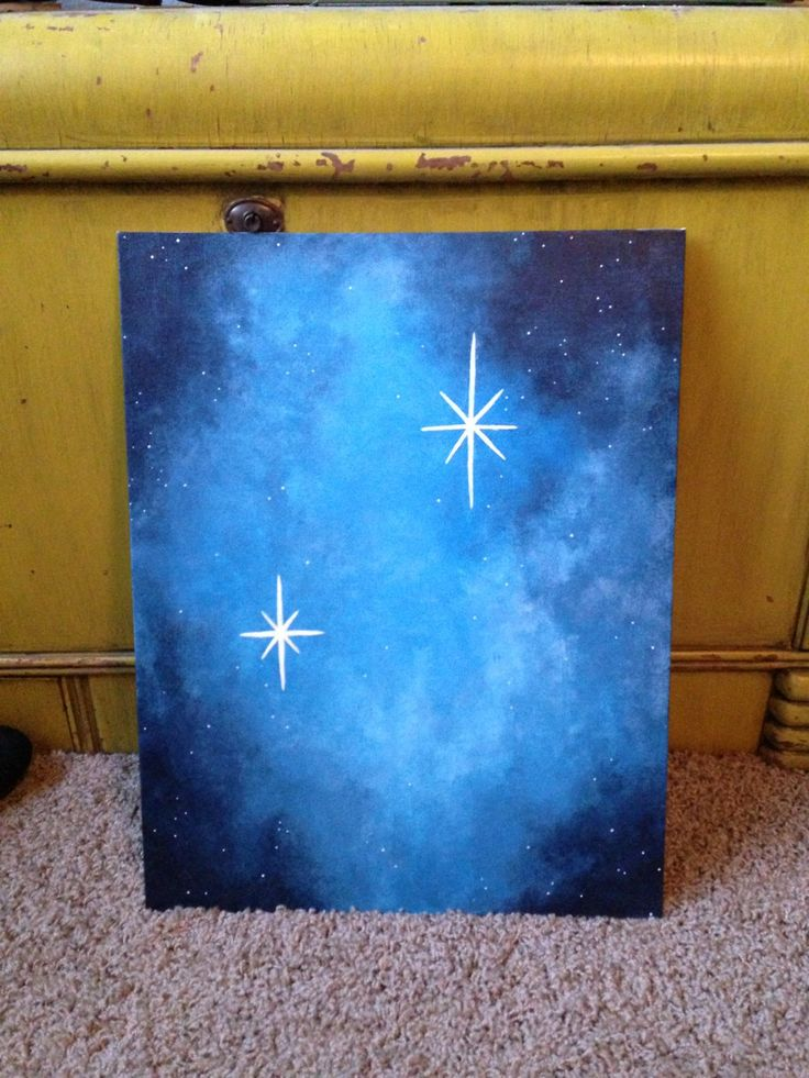 Canvas Painting Ideas For Babys Room