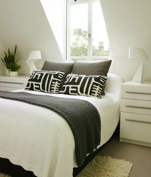 Manieren om je bed op te maken - plaid op je bed