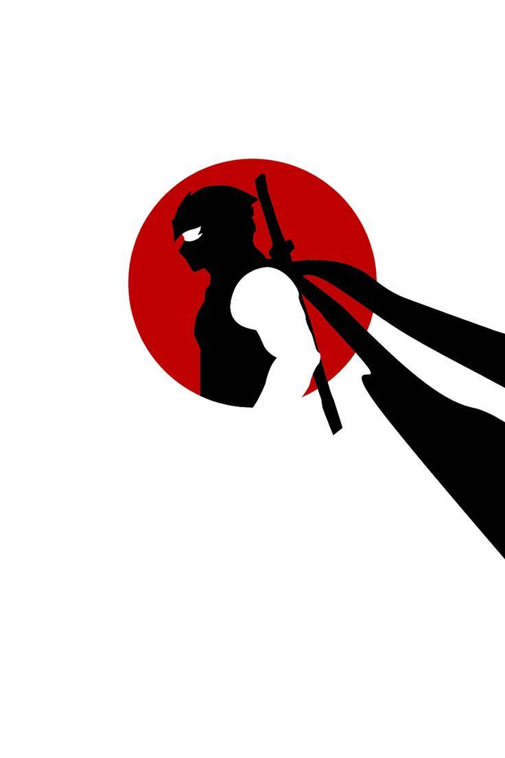 Ninja Gaiden minimalist poster. Thought it rad. - Imgur